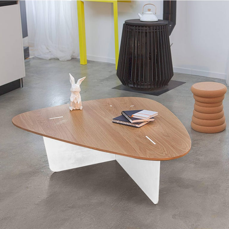 Aero, Coffee Table by Philippe Cramer for Le Point D, Contemporary Furniture In Excellent Condition For Sale In Valence, FR