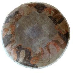 Handmade Vintage Tibetan Khaden Rug, 1970s
