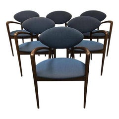 Set of Six Karina Guest Chairs by HBF