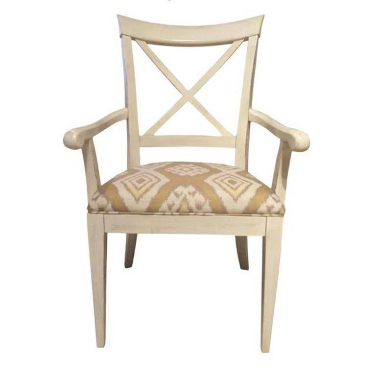 Drexel Heritage X Armchair For Sale At 1stdibs