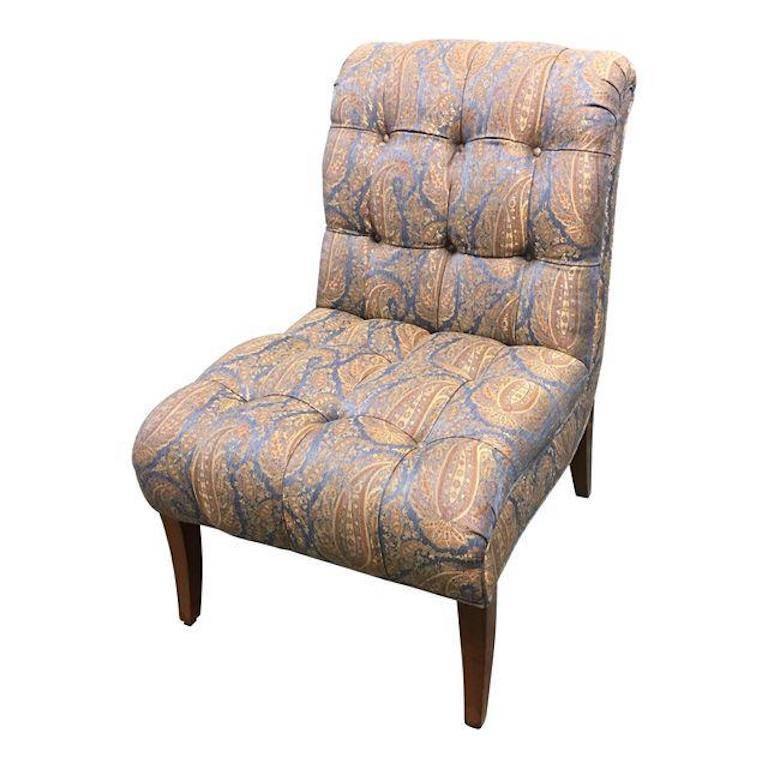 Pearson Gabrielle Paisley Chair For Sale
