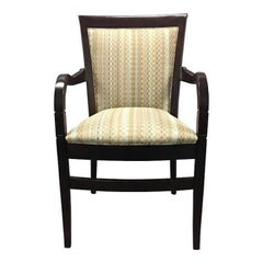 Hickory Chair Geometric Upholstered Sticking Chair