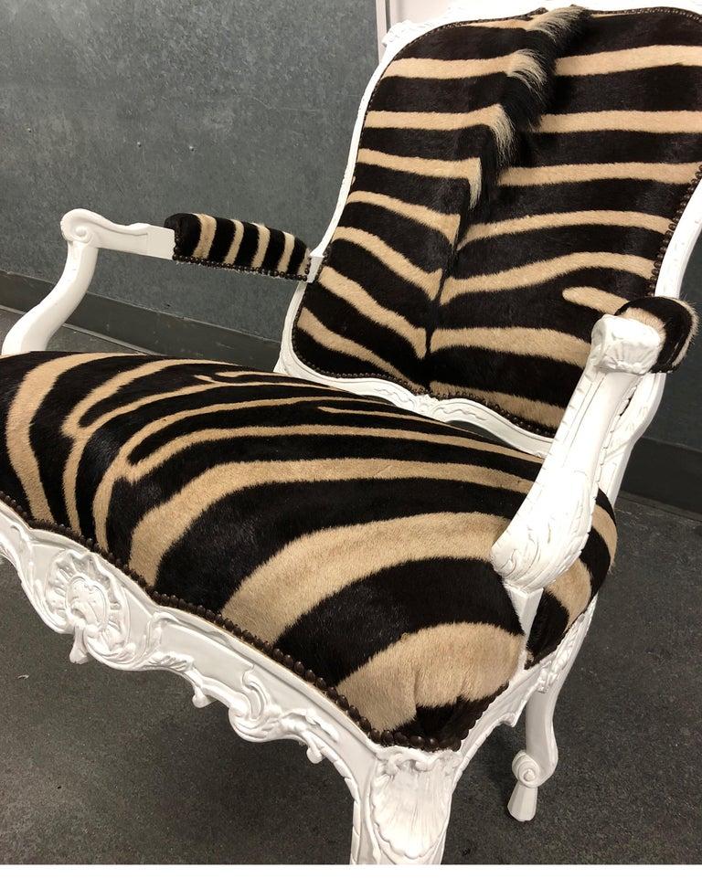 Ebanista Jesi South African Hide Armchair For Sale 2