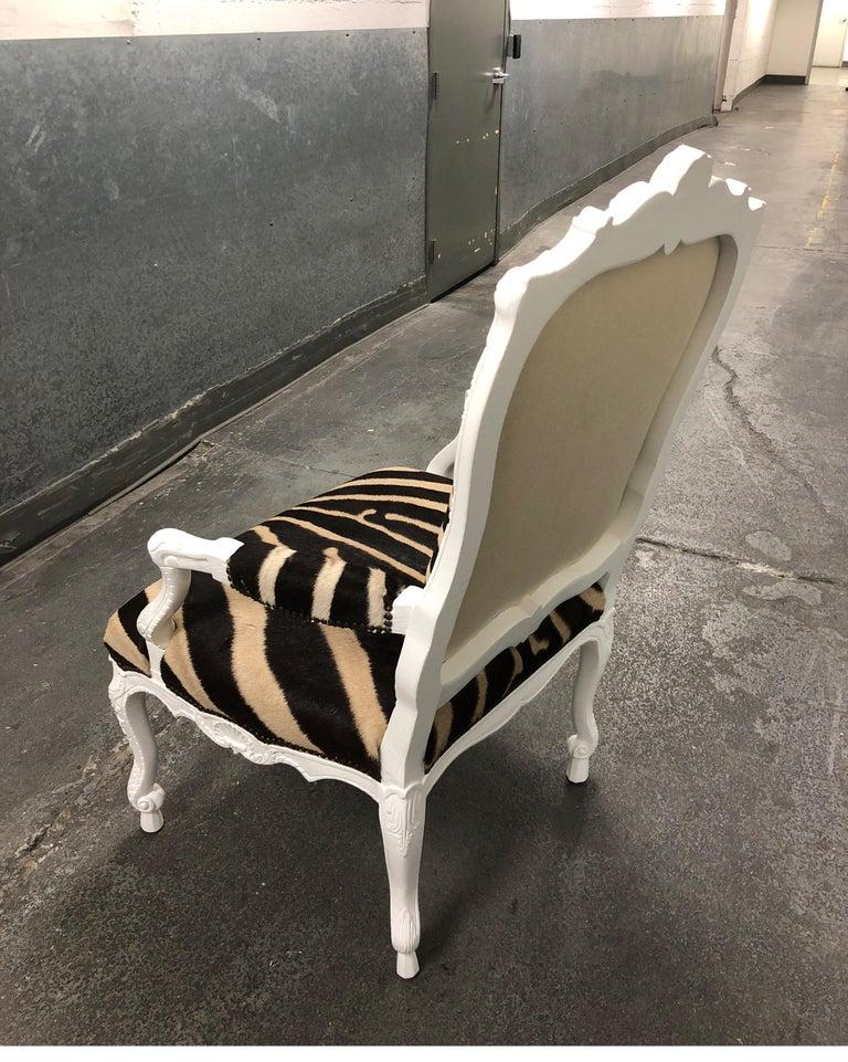Ebanista Jesi South African Hide Armchair For Sale 4