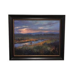"""""""Break of Day"""" Scenery Oil Painting by Artist Susan Jarecky"""
