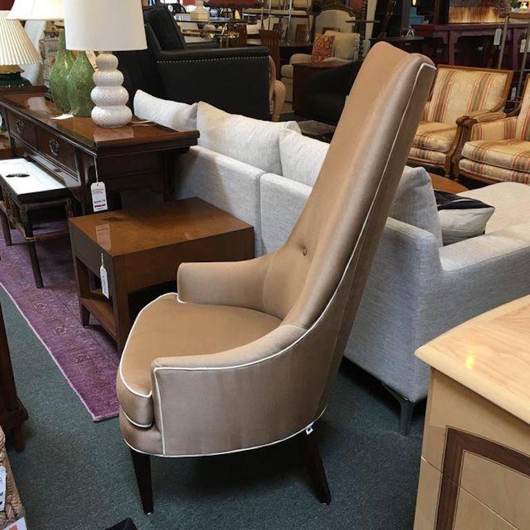 Jonathan Adler Prescott High Back Chair For Sale At 1stdibs
