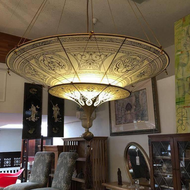 chandelier fortuny garbo arm basso product