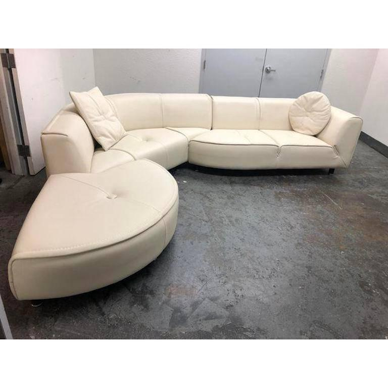 Design Plus Gallery Has A Three Piece Planet Sectional From Gamma Furniture Upholstered In