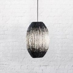 Klaylife Barrel, Ombre Handmade Clay Beaded Pendant Light,