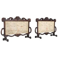 Louis XV Style Fire Screens
