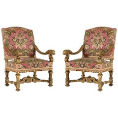 French Baroque Fauteuils