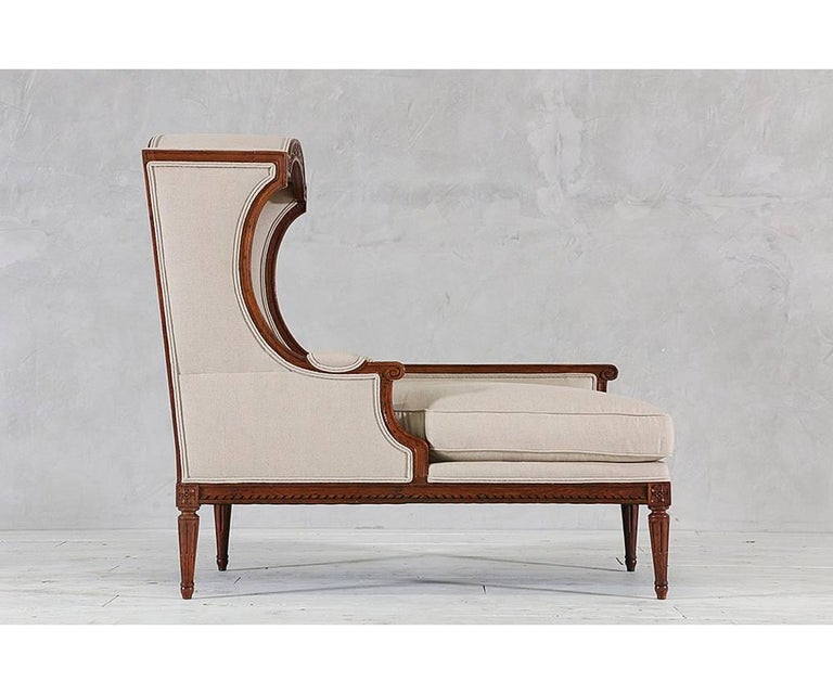 Louis Xvi Style Chaise With Canopy For Sale At 1stdibs