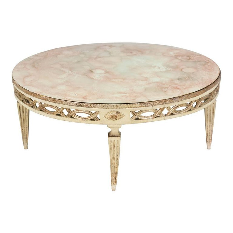 italian painted coffee table for sale at 1stdibs With painted coffee tables for sale