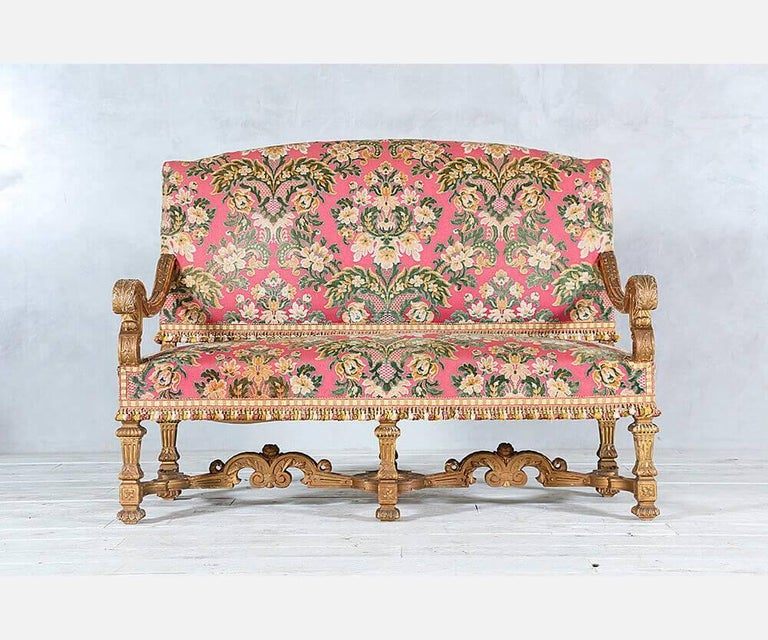 French Baroque Settees In Good Condition For Sale In Los Angeles, CA
