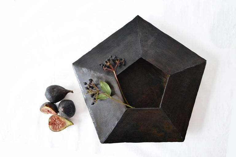 Contemporary Collection of Modern Geometric Vessels Handmade by J.M. Szymanski, made in NYC For Sale