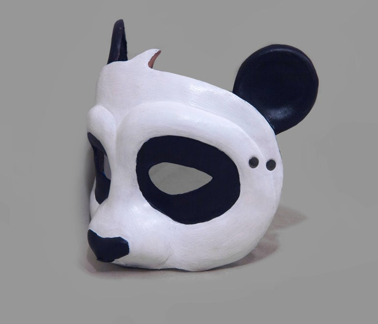 Leather Panda Mask 3