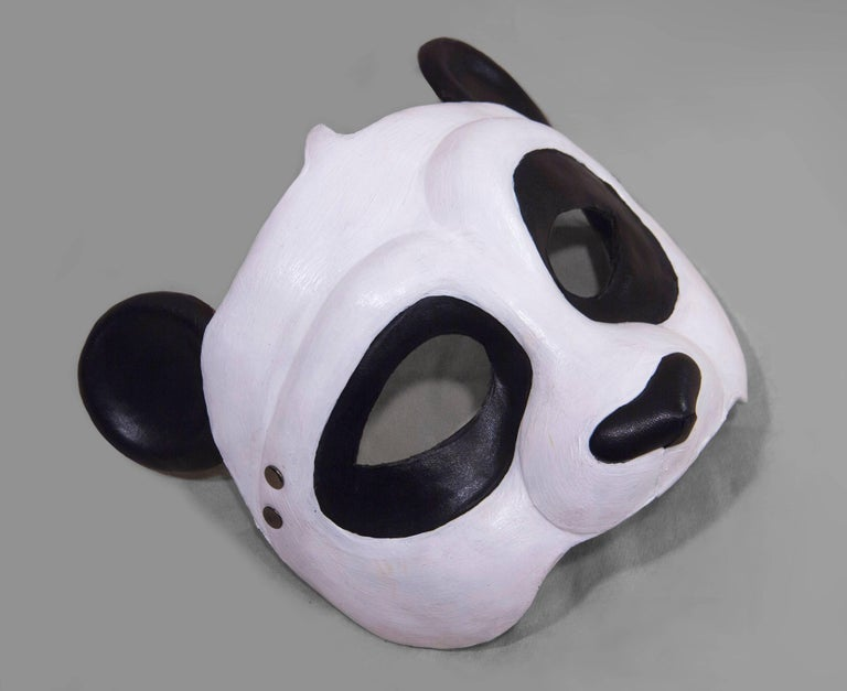 Leather Panda Mask 2