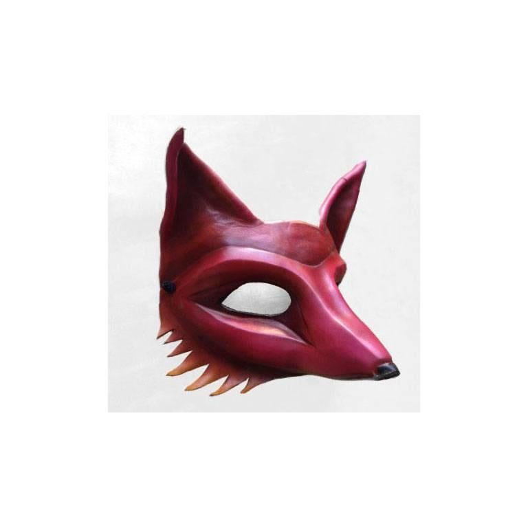 Originally commissioned for Burning Man, combining the element of fire with the animal fox, not to be confused with the web browser. This piece is wearable art, making it perfect for a masquerade, costume party, Halloween, or as a beautiful shelf or