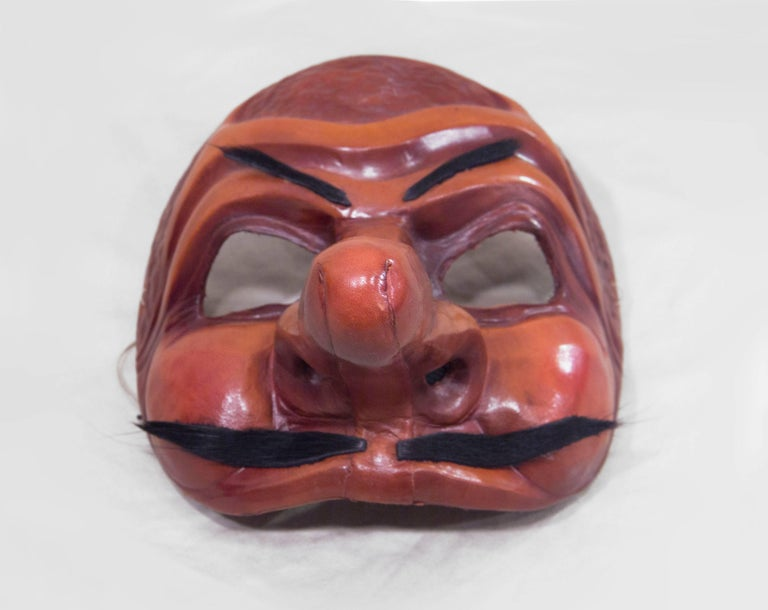 Traditional Leather Capitano Mask 2
