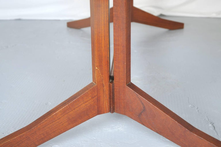 Rosewood TL14 Italian Dining Table by Poggi, 1958 For Sale 2
