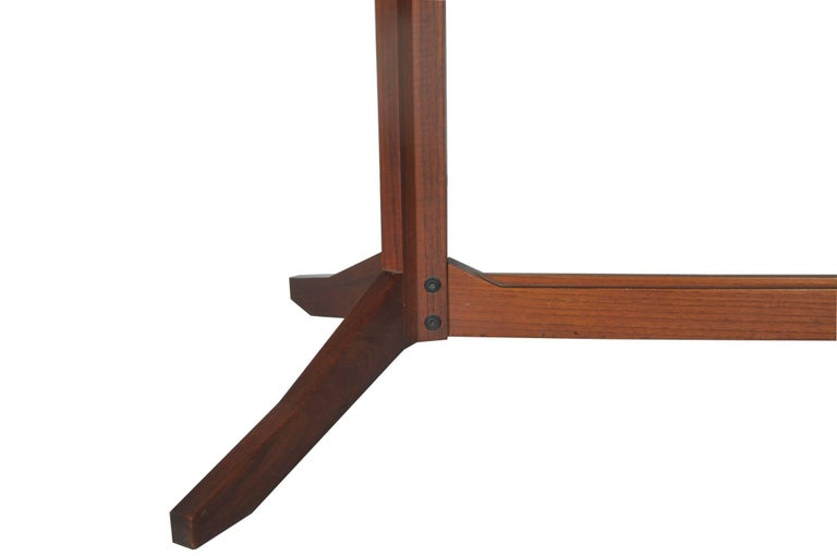 Rosewood TL14 Italian Dining Table by Poggi, 1958 For Sale 1