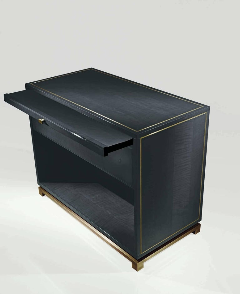 Bronze Bedside Table Xi For Sale At 1stdibs