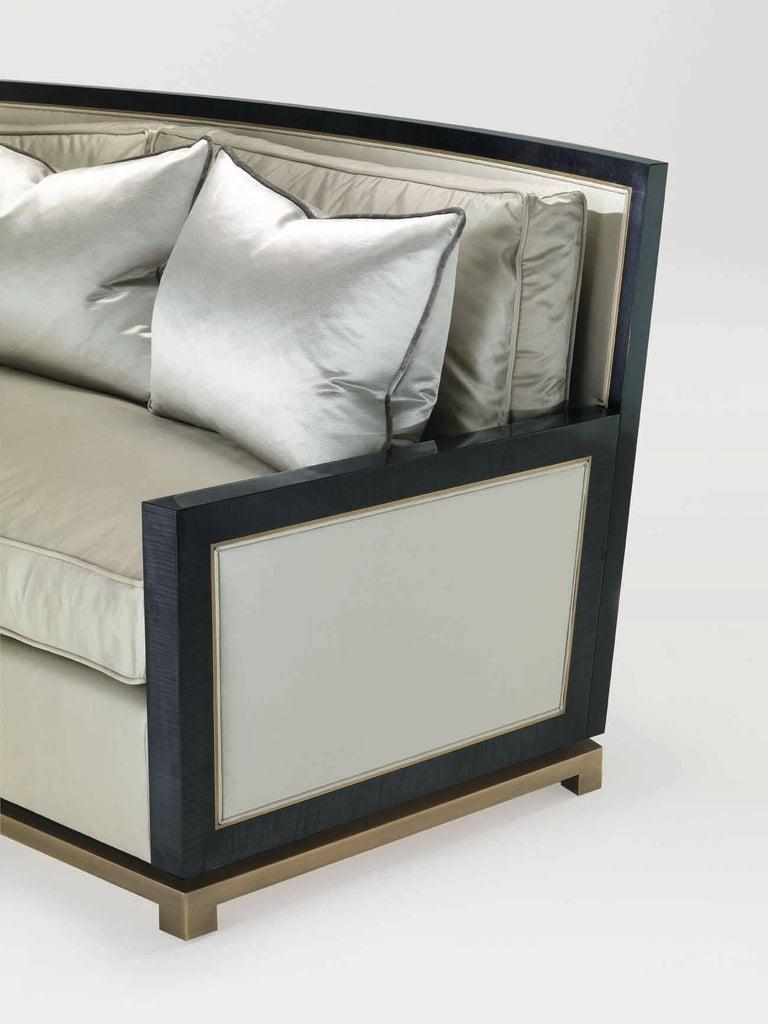 Italian Bronze Sofa V For Sale