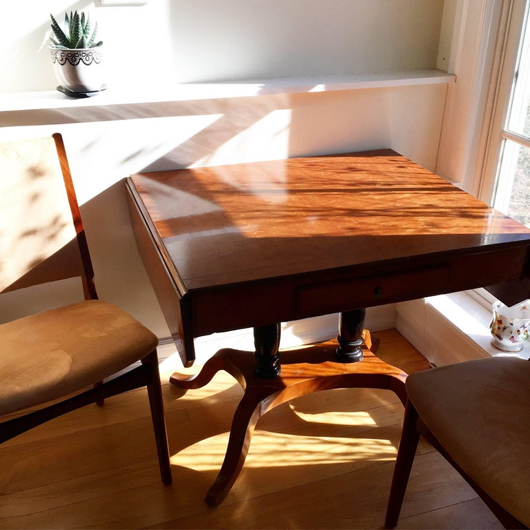 Set of Five Danish Modern Rosewood Chairs For Sale 5
