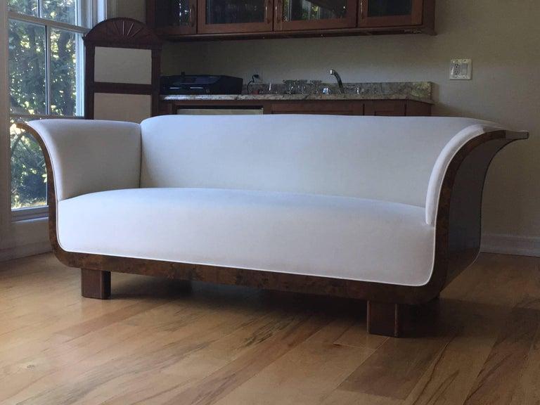 Danish Art Deco Sofa For Sale 4