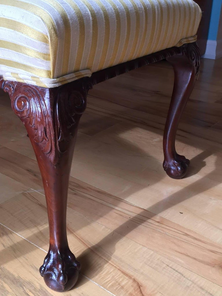 19th Century Danish Chippendale Style Side Chairs In Good Condition For Sale In Cold Spring, NY