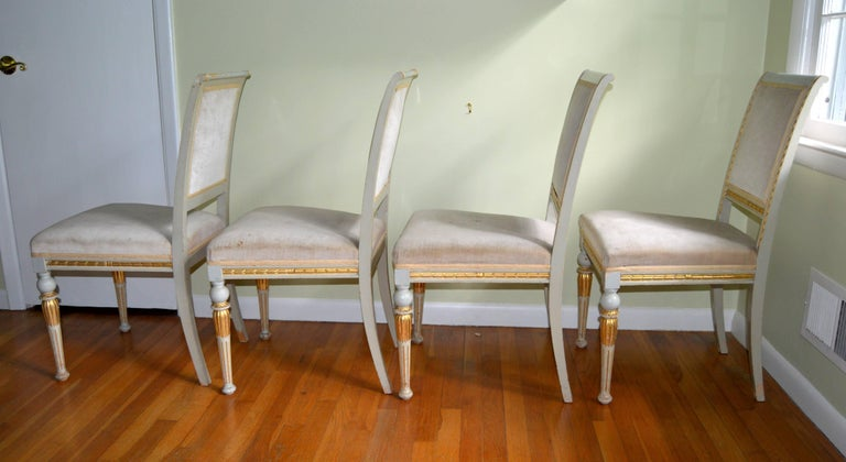 Swedish Late Gustavian Neoclassical Style Suite For Sale 5