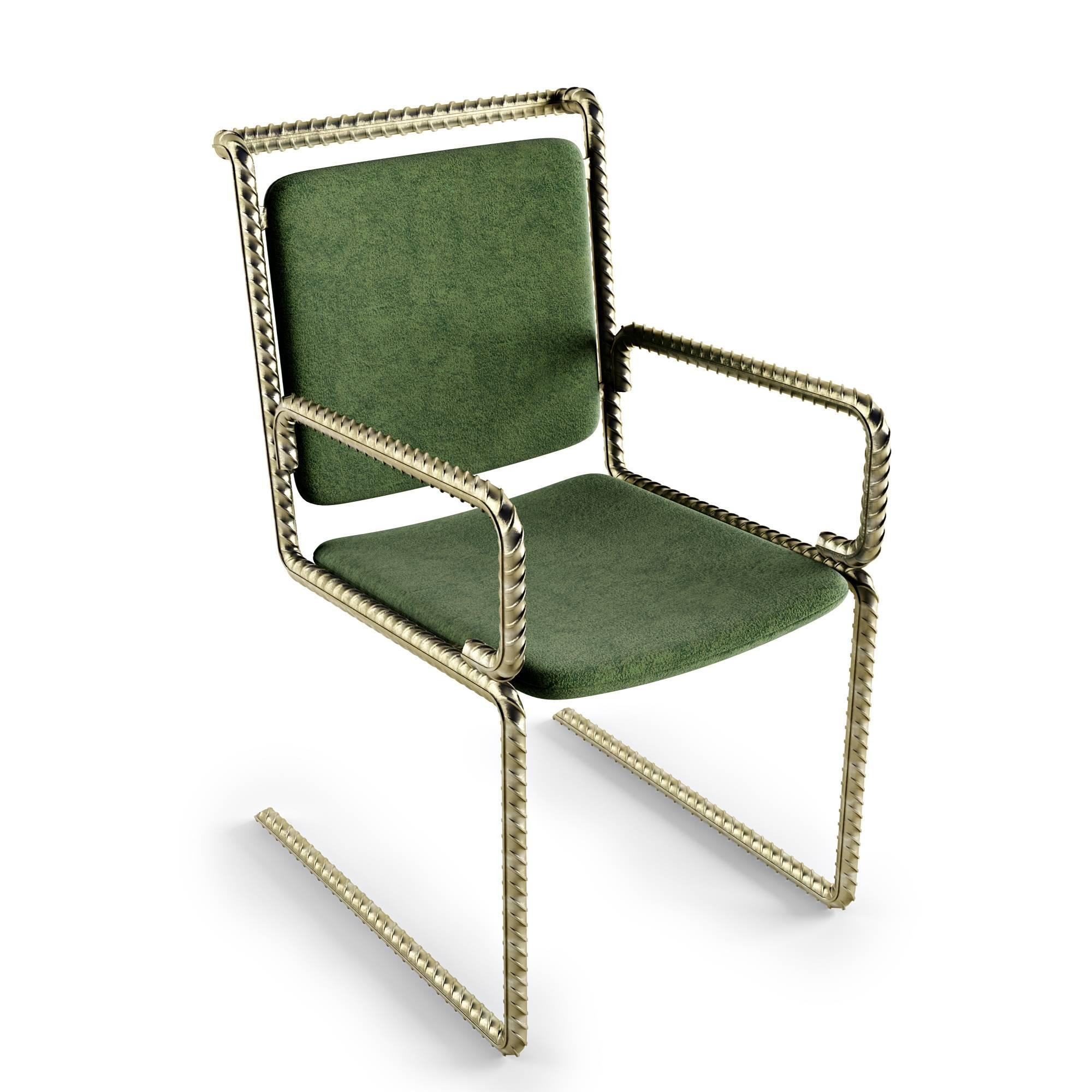 brass chair antique furniture chairs dining benches cade