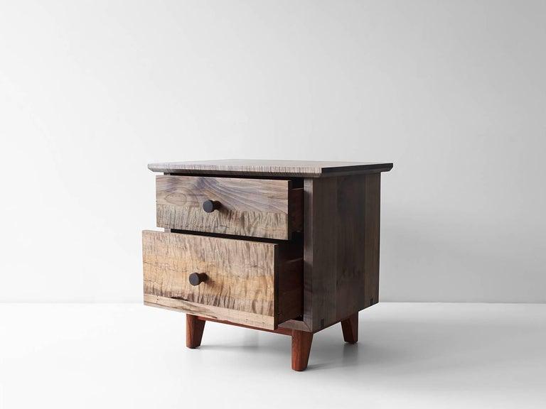 Spring Side Cabinet in Domestic Hardwoods