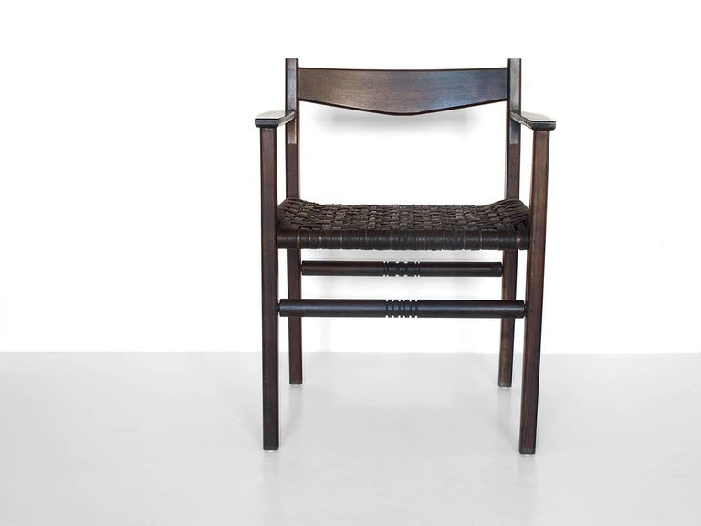 Silo Armchair By Fern Wood Chair With Wood Leather Or