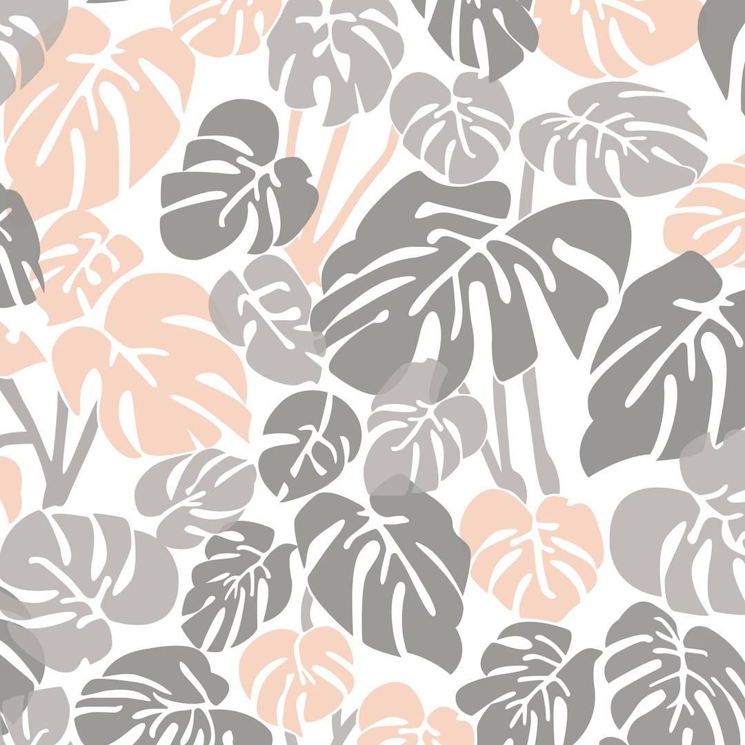 Deliciosa Designer Wallpaper in Quartz 'Pink, Greys and White'