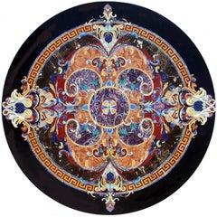 Italian Pietre Dure Inlay Stone Round Tabletop