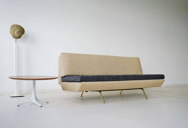 Arflex Sofa Canapé Daybed Sleep Bed Sofa by Marco Zanuso, Midcentury In Good Condition For Sale In Greven, DE