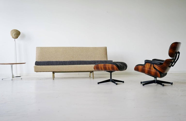 Arflex Sofa Canapé Daybed Sleep Bed Sofa by Marco Zanuso, Midcentury For Sale 4