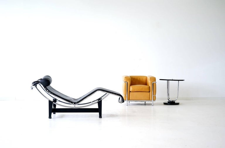 Early lc4 le corbusier chaise longue cassina no 8xxx for for Cassina le corbusier lc4 chaise longue