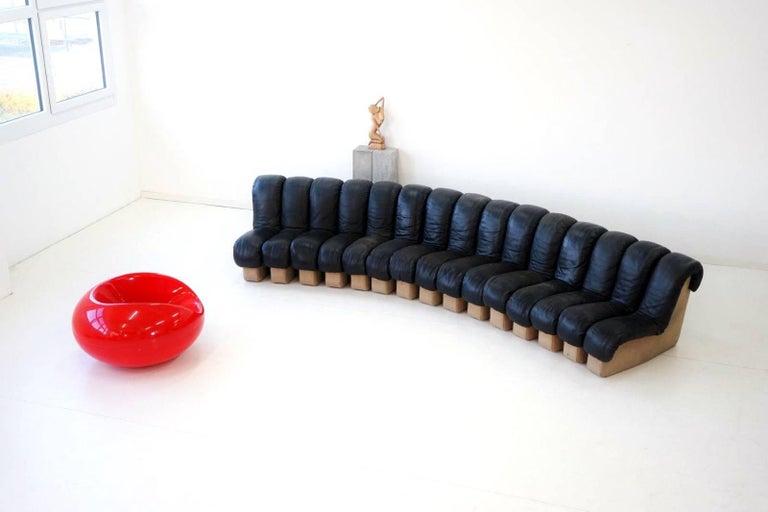Eero Aarnio for Asko chair red fiberglass Pastil