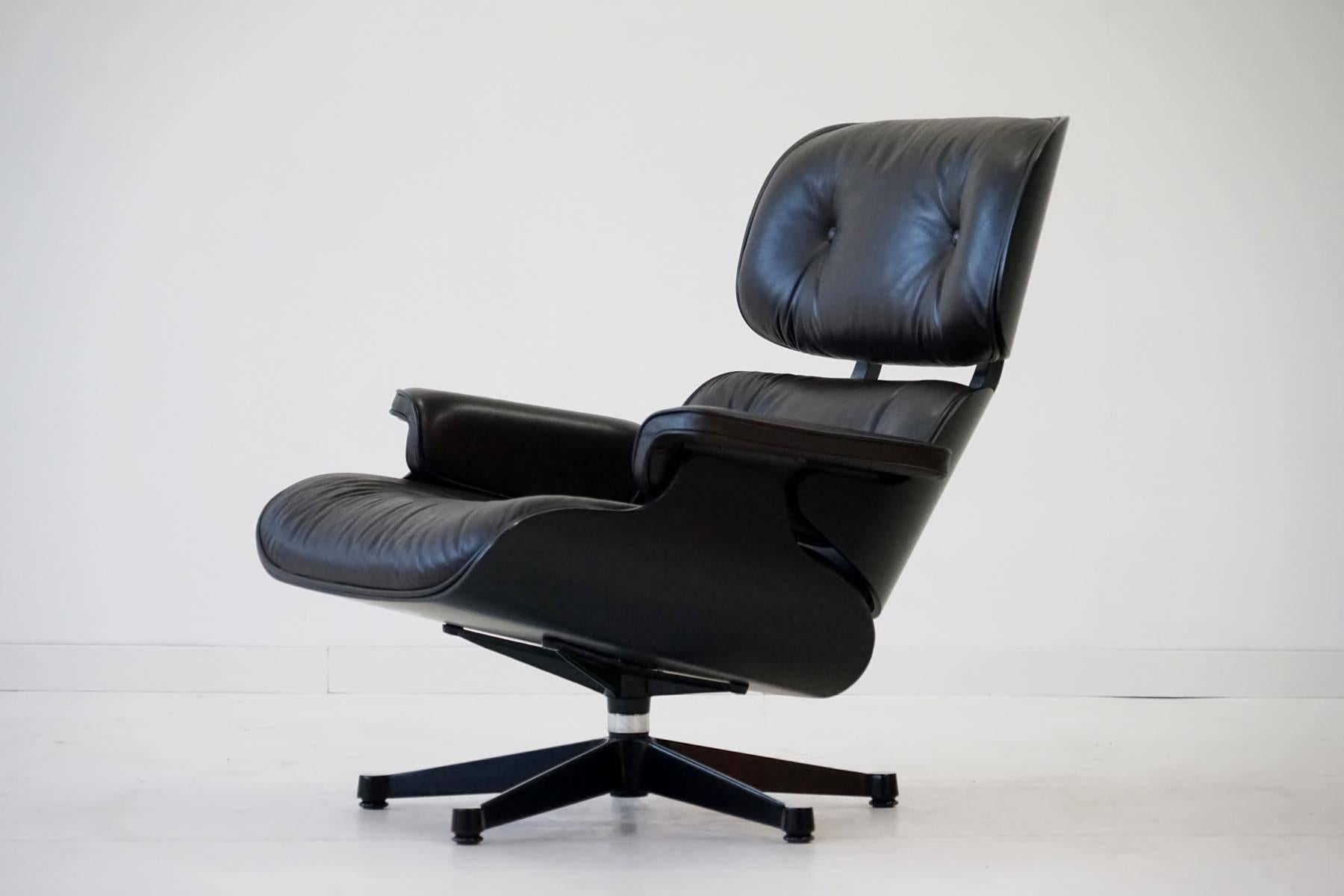Original Lounge Chair By Charles Eames, Vitra, From Exhibition Since 1956,  The Lounge