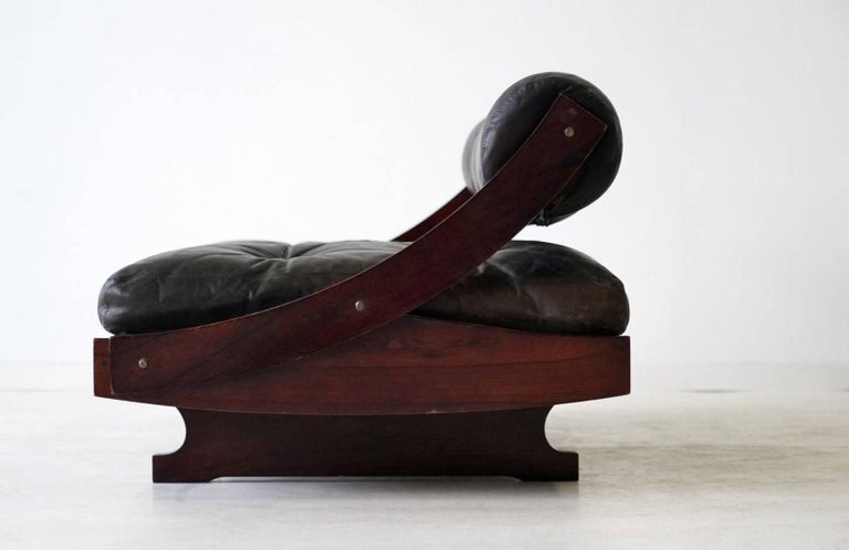 Sormani Songia GS 195 Leather Sofa Daybed In Excellent Condition For Sale In Greven, DE