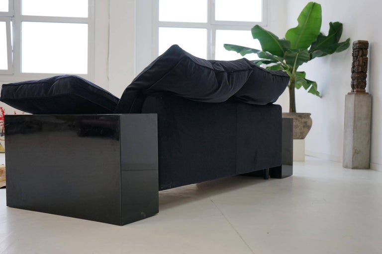 19th century sofa lota by eileen gray canap lounge daybed for sale at 1stdibs. Black Bedroom Furniture Sets. Home Design Ideas