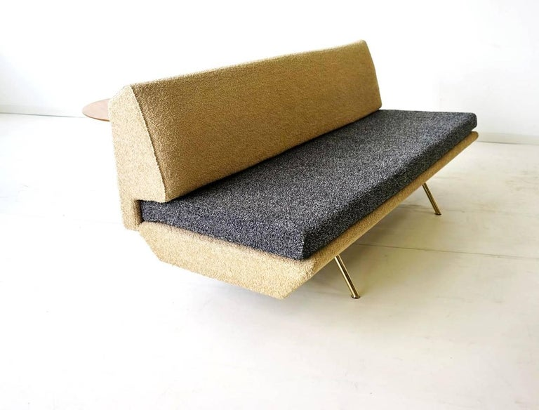 Mid-Century Modern Arflex Sofa Canapé Daybed Sleep Bed Sofa by Marco Zanuso, Midcentury For Sale