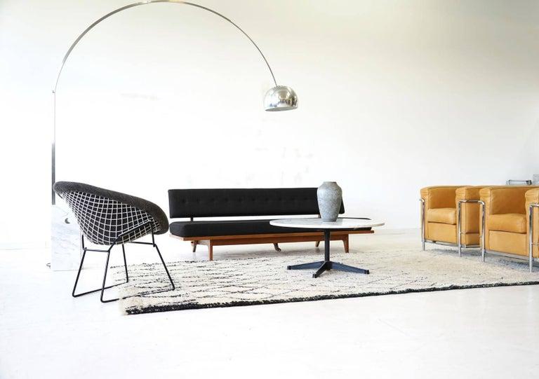 Diamond Wire Side Lounge Armchair By Bertoia Knoll