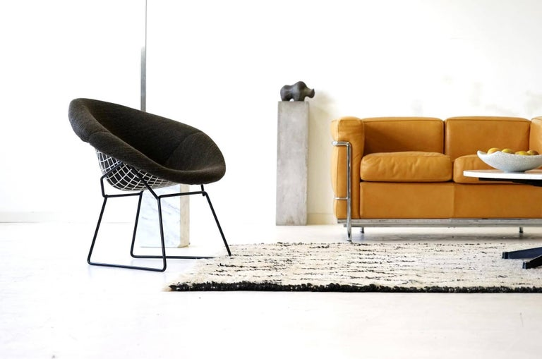 Diamond Wire Side Lounge Armchair By Bertoia Knoll