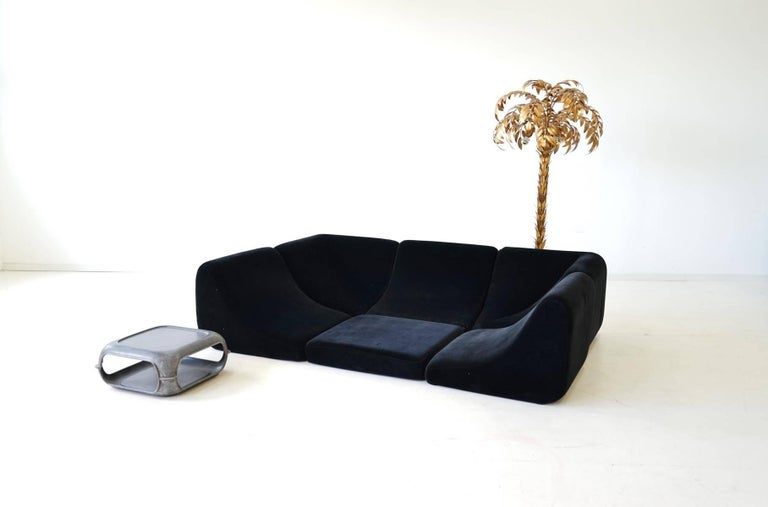Sofa Pool Modular Seating Landscape and Table Luigi Colani Rosenthal Germany For Sale at 1stdibs