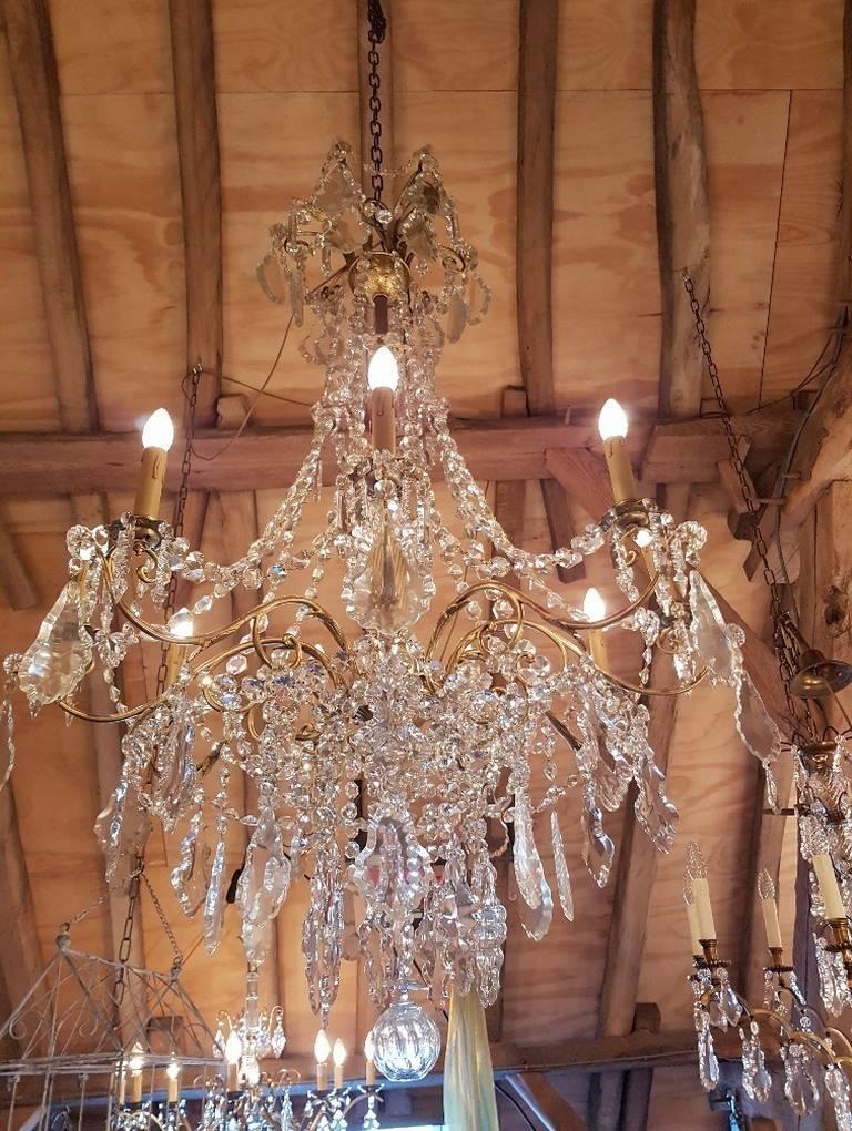 olive com dp regina chandelier bronze with wide crystals amazon crystal