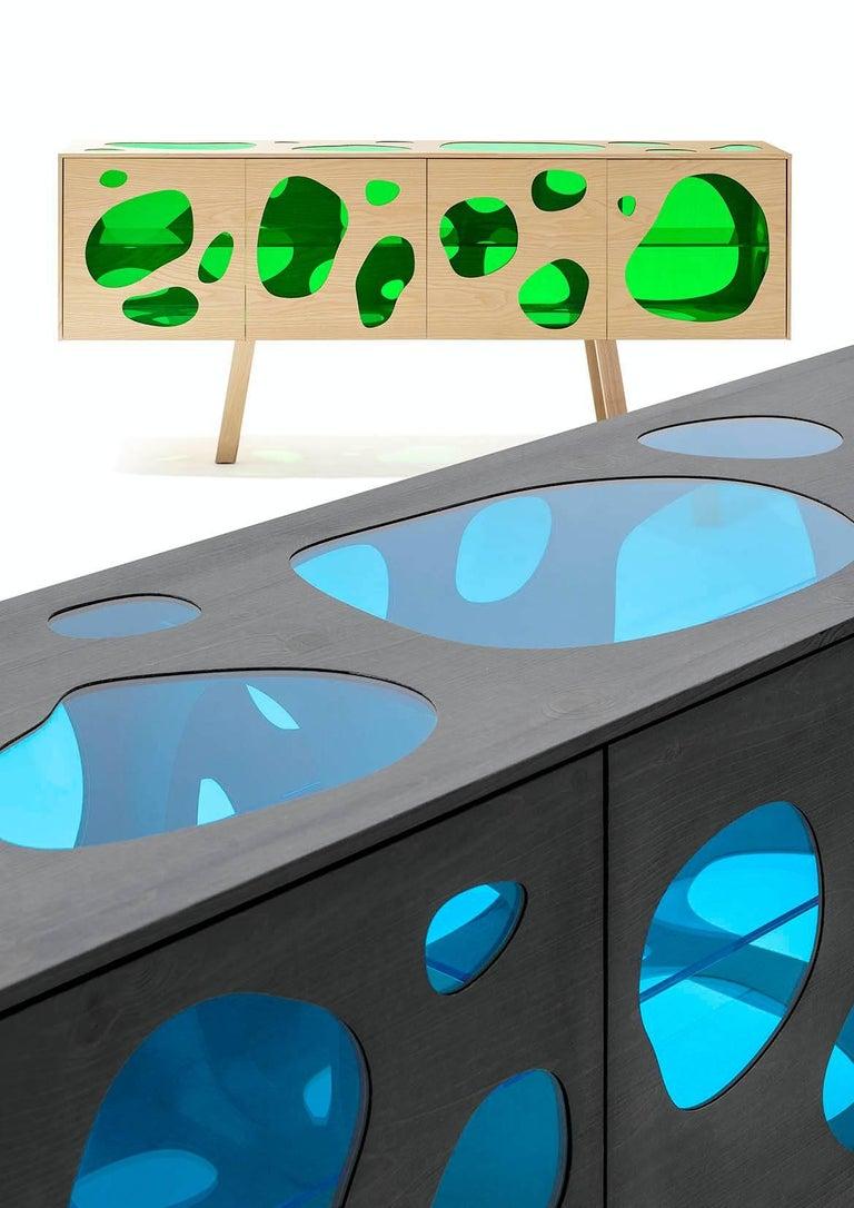 Modern Aquário Cabinet - Natural Ash For Sale