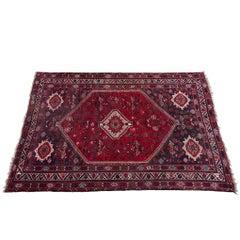 Handwoven Caucasian Tribal Rug